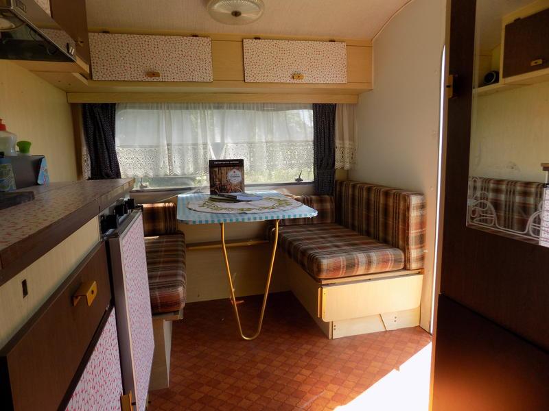 Old caravan in the beautiful Haspengouw #4