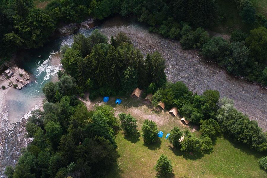 Kampeerplaatsen op 5 meter van de rivier Savinja! #1