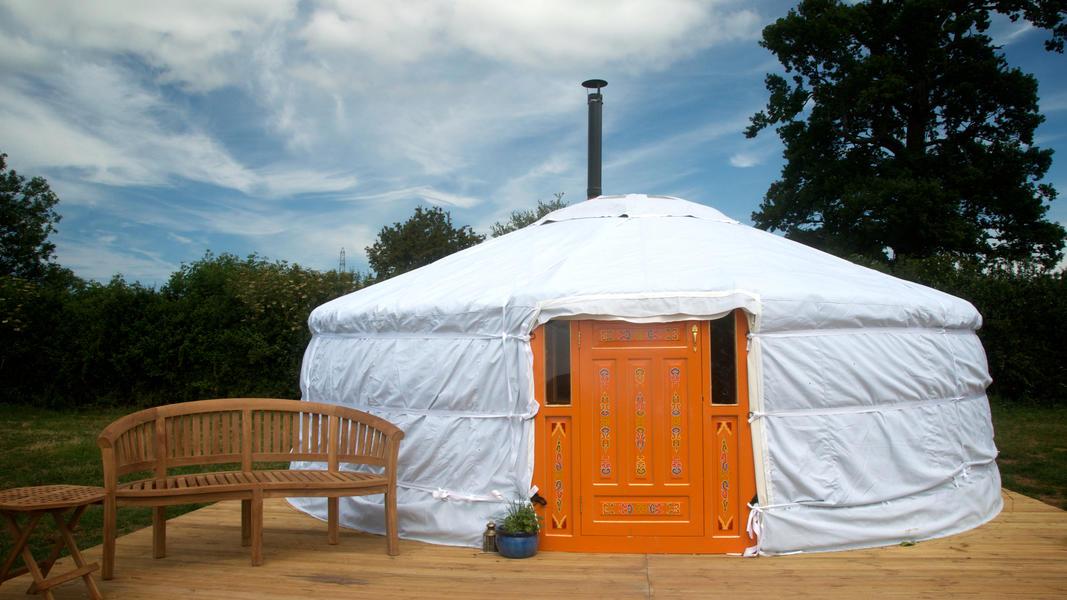 Somerset Yurts #2
