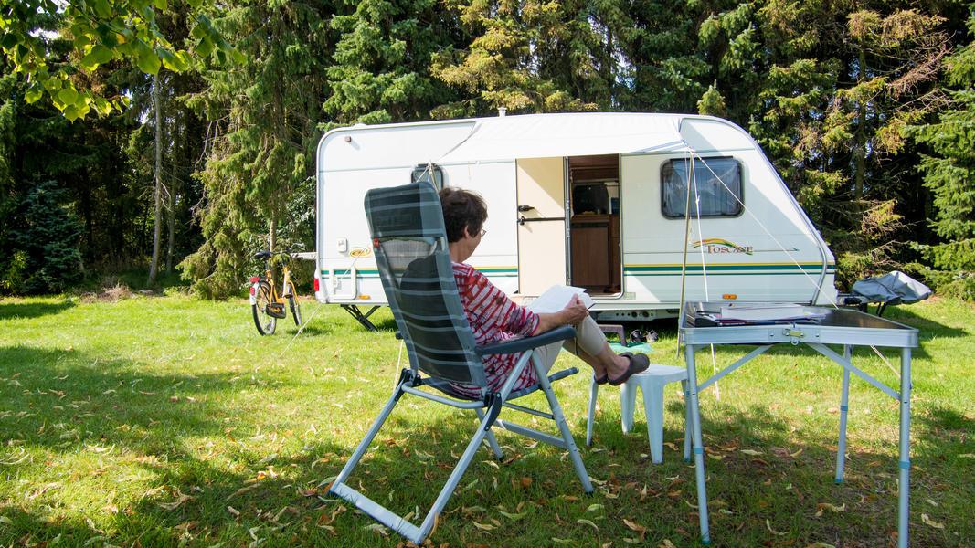 Camping auf einem Minicampingplatz auf dem Bauernhof #4