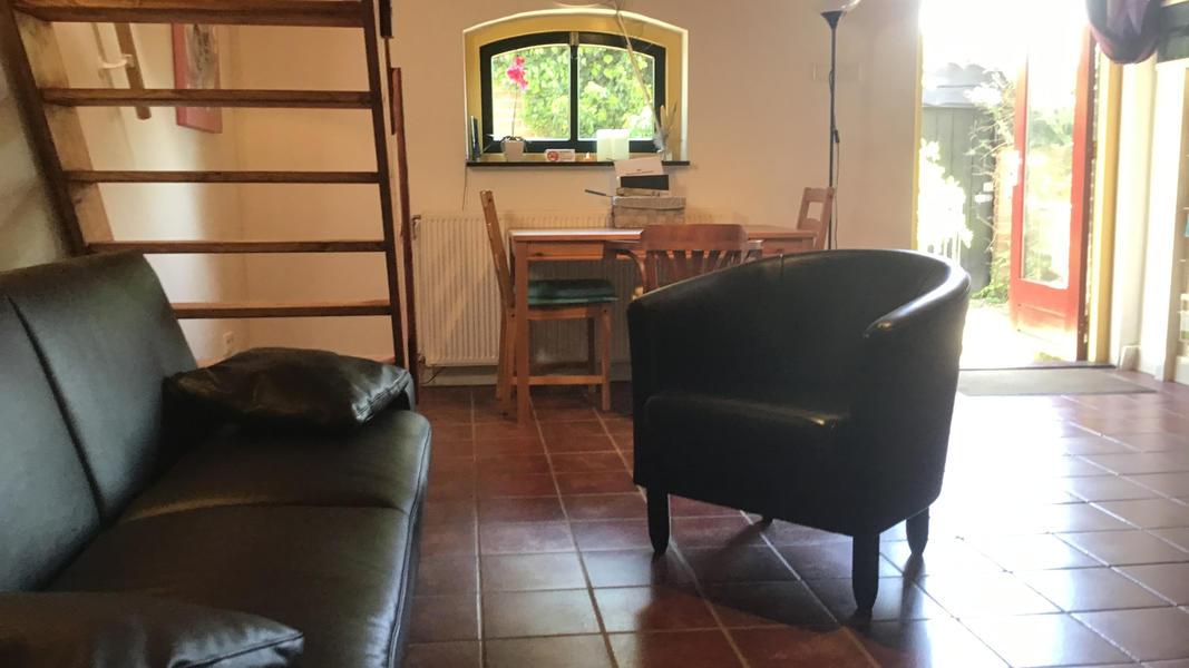 Romantisches Studio Mit Schwimmteich Feuerstelle Und 2 Ha Gehflache Mit Feuerschale