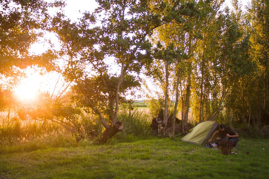 Jouw plekje voor de nacht in de polder van 100 m2 #1