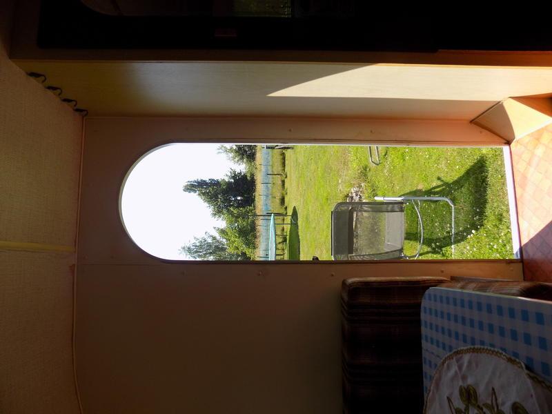 Old caravan in the beautiful Haspengouw #5