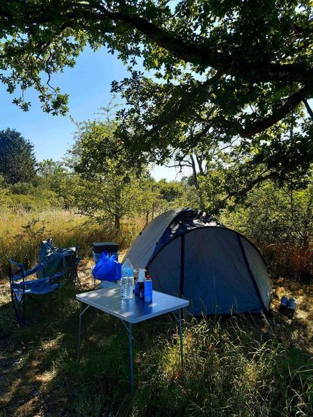 Camping an einem ruhigen Ort mit einem Teich! (1) #3