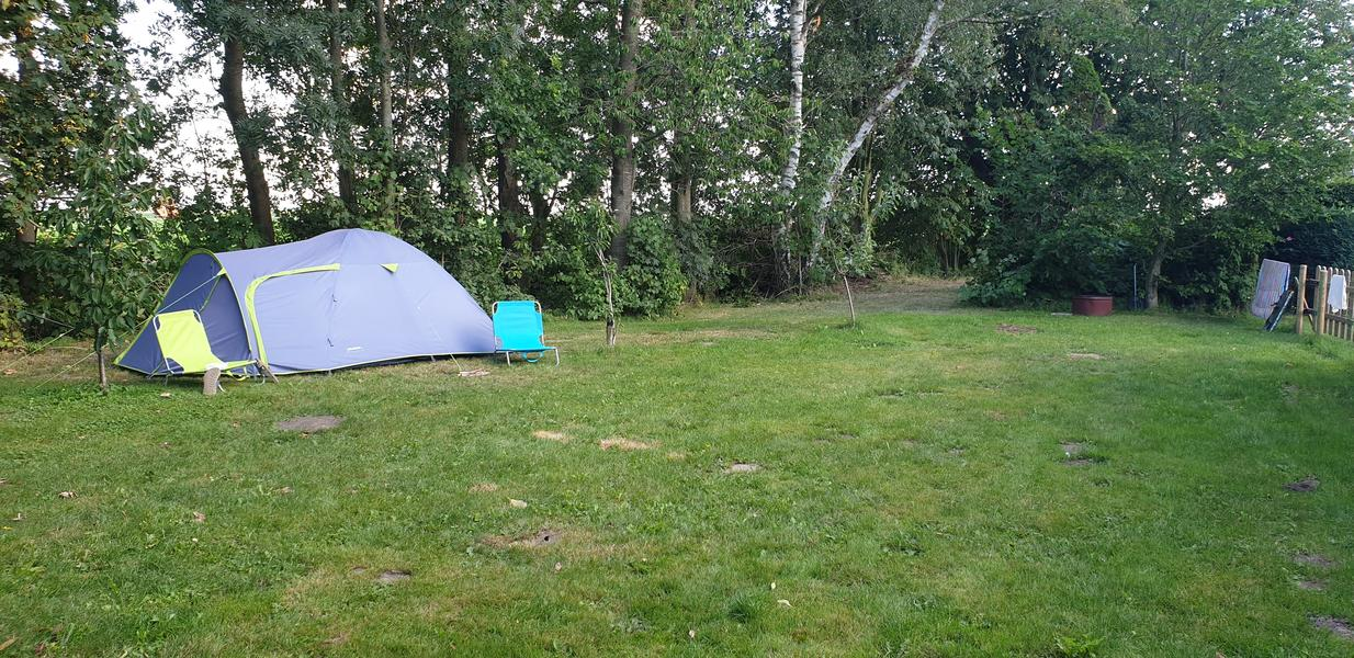 Rustic campsite on our farm #4