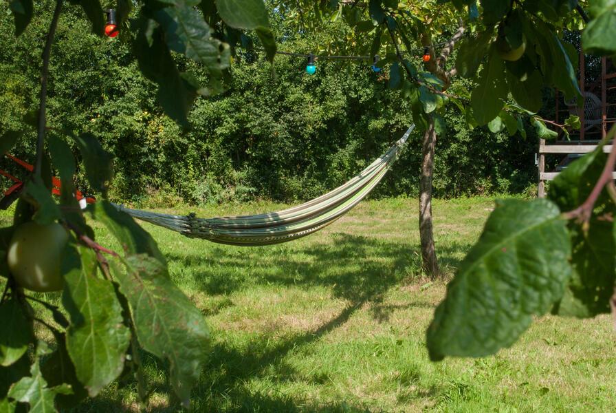 Camping in a de Waard Albatros, on the organic bynamic farm #3