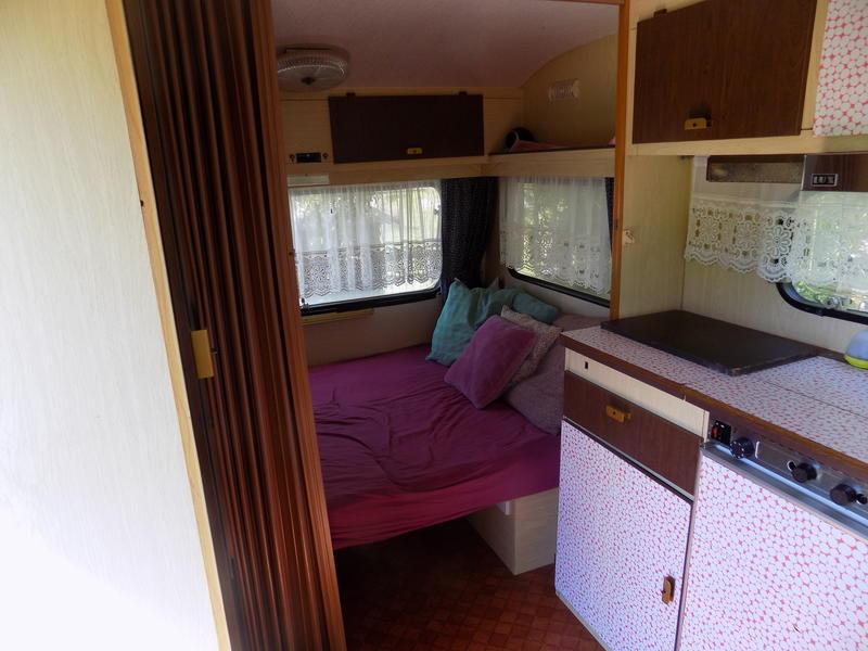 Old caravan in the beautiful Haspengouw #3