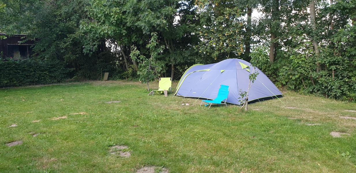 Rustic campsite on our farm #3