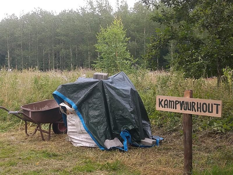 Wintercamping in food forestry #8