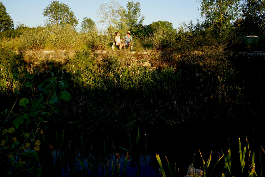 camping in a quiet place with a pond! (1) #9