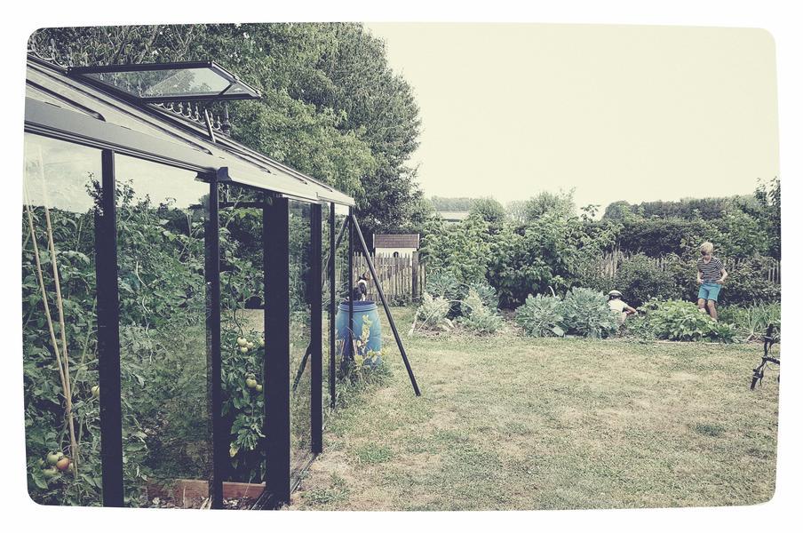 Kindvriendelijke tuin of weiland in Letterhoutem! #8