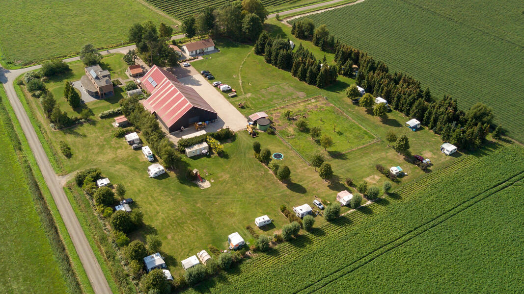 Camping auf einem Minicampingplatz auf dem Bauernhof #1