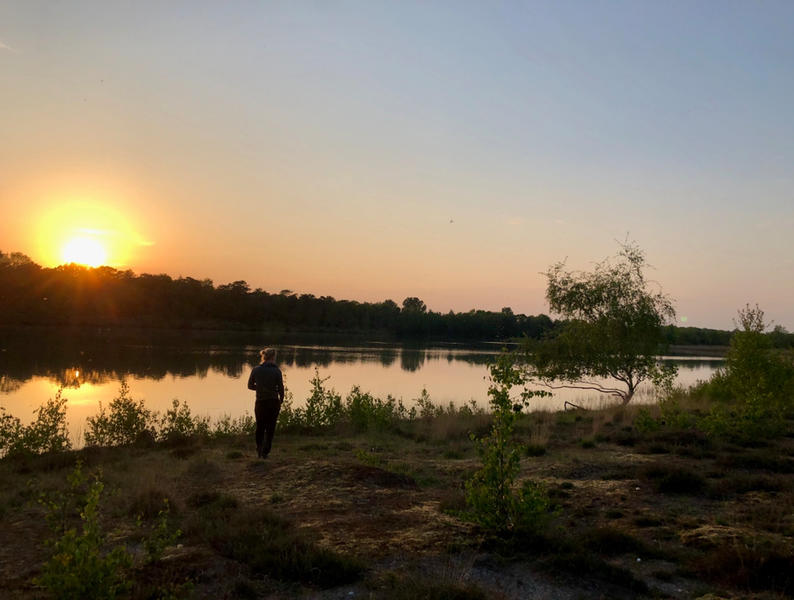 In the green heart of the Kempen near # nature reserves, Molse sand pits, Zilvermeer ... #12