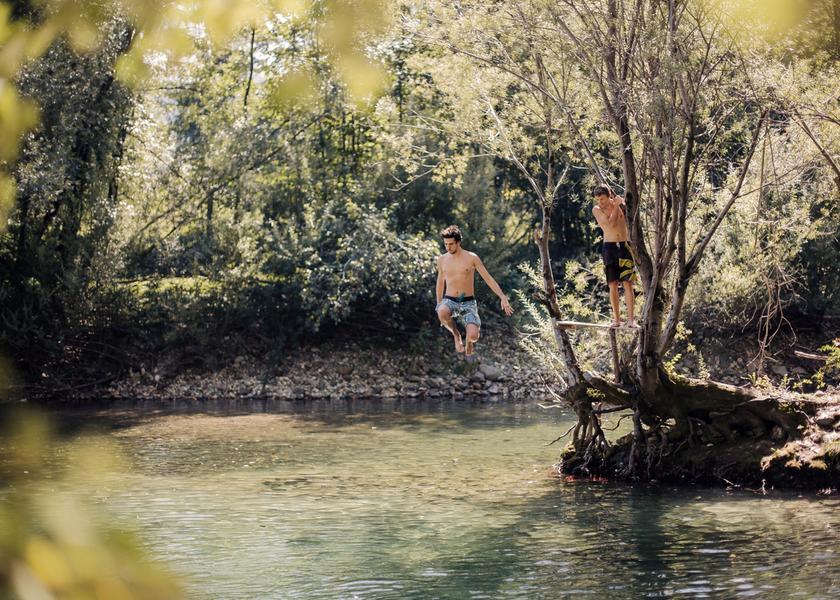 Kampeerplaatsen op 5 meter van de rivier Savinja! #13