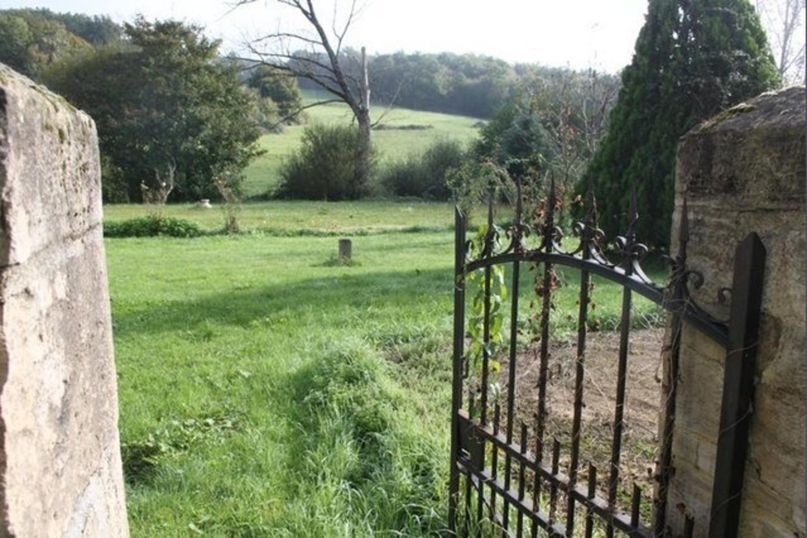 Garden Of The Maison Du Bonheur Dordogne Perigord