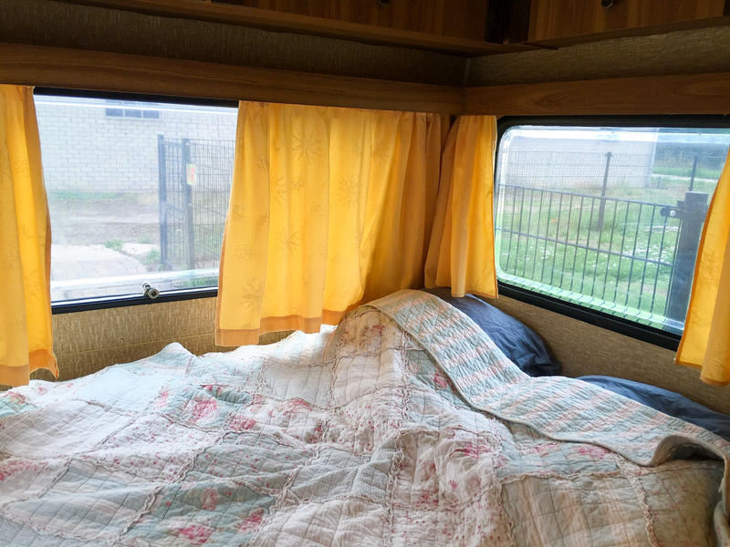 mooi Betuwe Aan de struinroute vd waal, in boomgaard  caravan met eigen sanitair #5