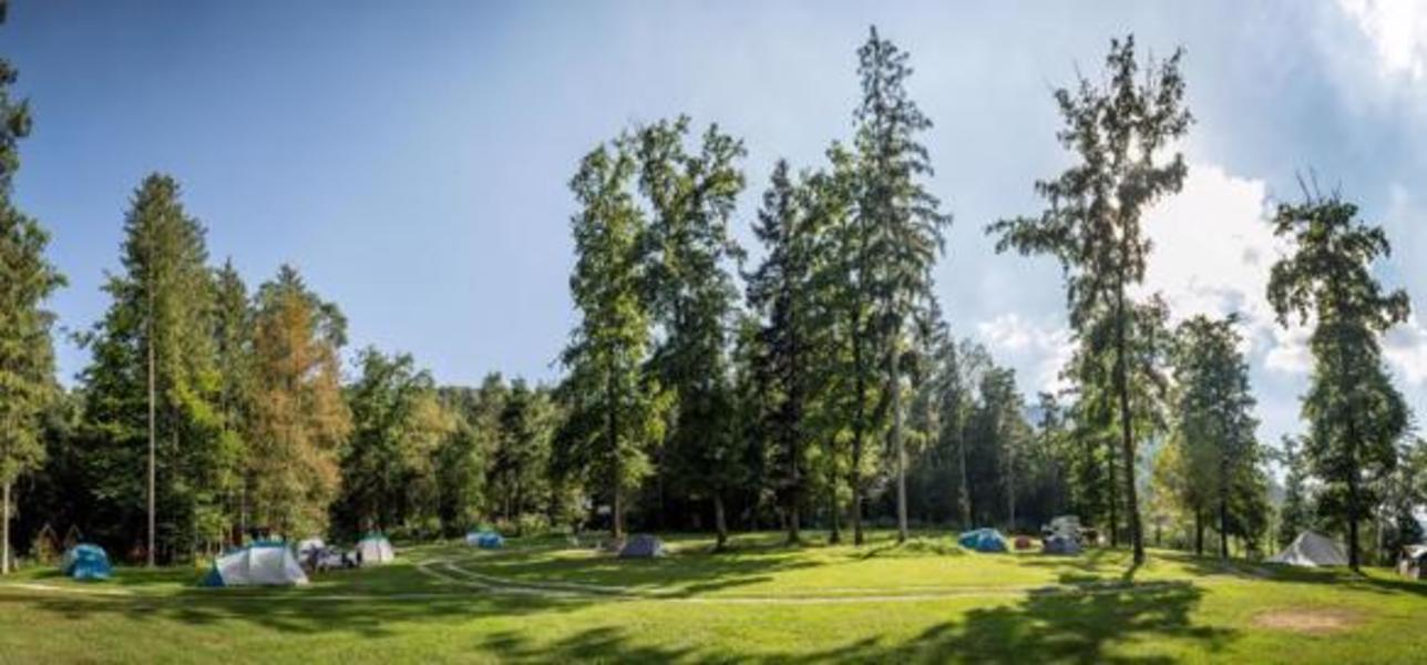 Rent a pitch in beautifull forest by the Alpine river Savinja #1