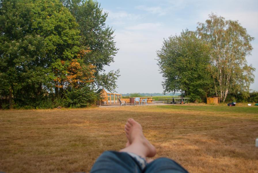 Mini campsite in Schoonoord, camping pitch #4