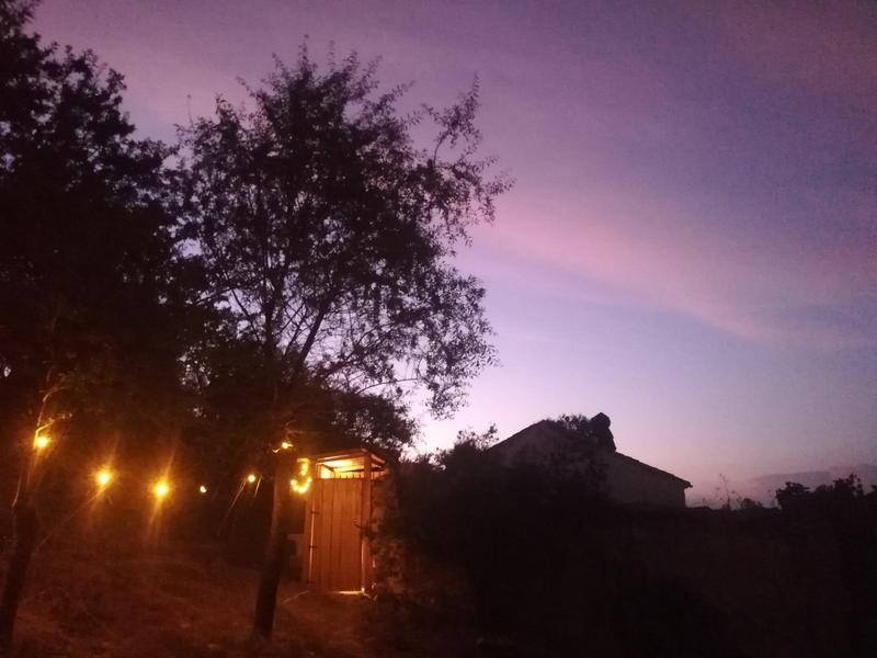 """Overnachten in onze amandelboomgaard """"Casilla de los Tajos"""" #6"""
