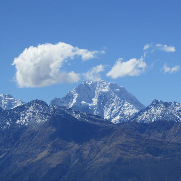 Camping with a fantastic view over the Andes mountain #3