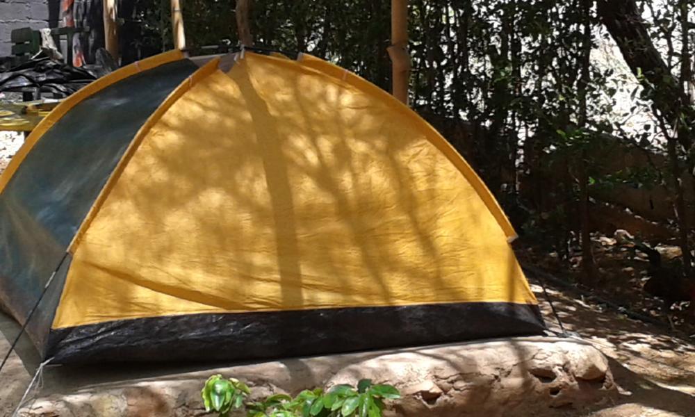 La jauna Ecoaldea, Casa Camping #1