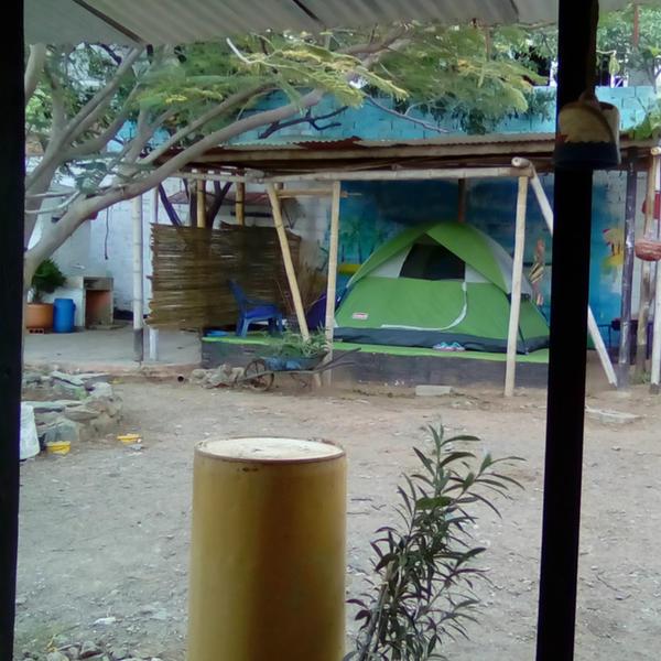 La jauna Ecoaldea, Casa Camping #2