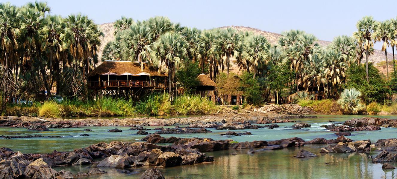 River-Facing Namibian Campsite #1