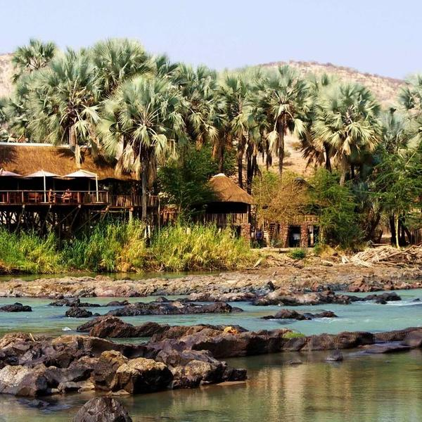 River-Facing Namibian Campsite #3
