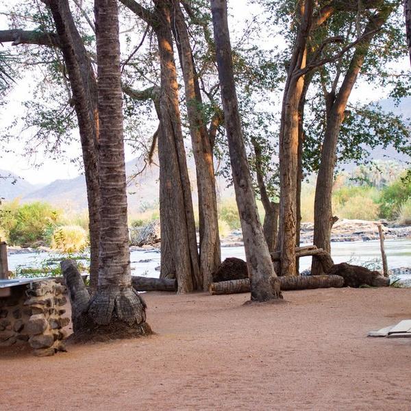 River-Facing Namibian Campsite #5