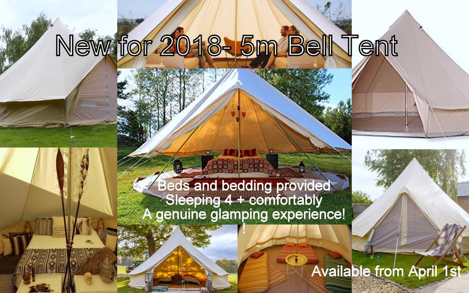 Luxury Glamping Bell Tent #1