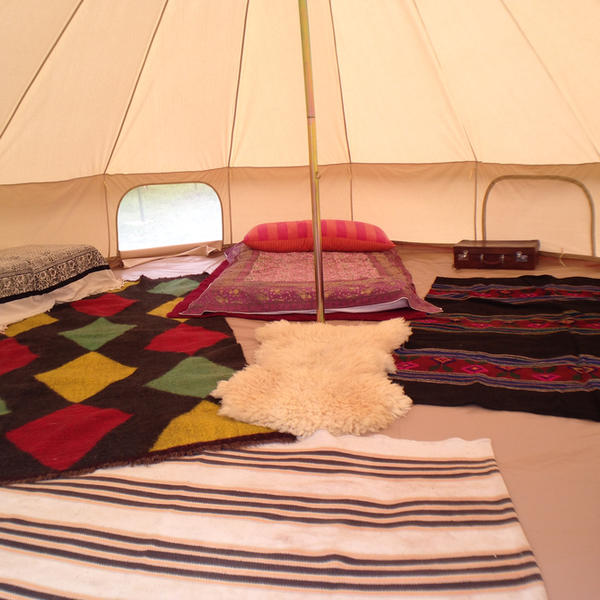 Luxury Glamping Bell Tent #4