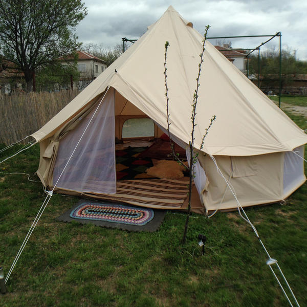 Luxury Glamping Bell Tent #5