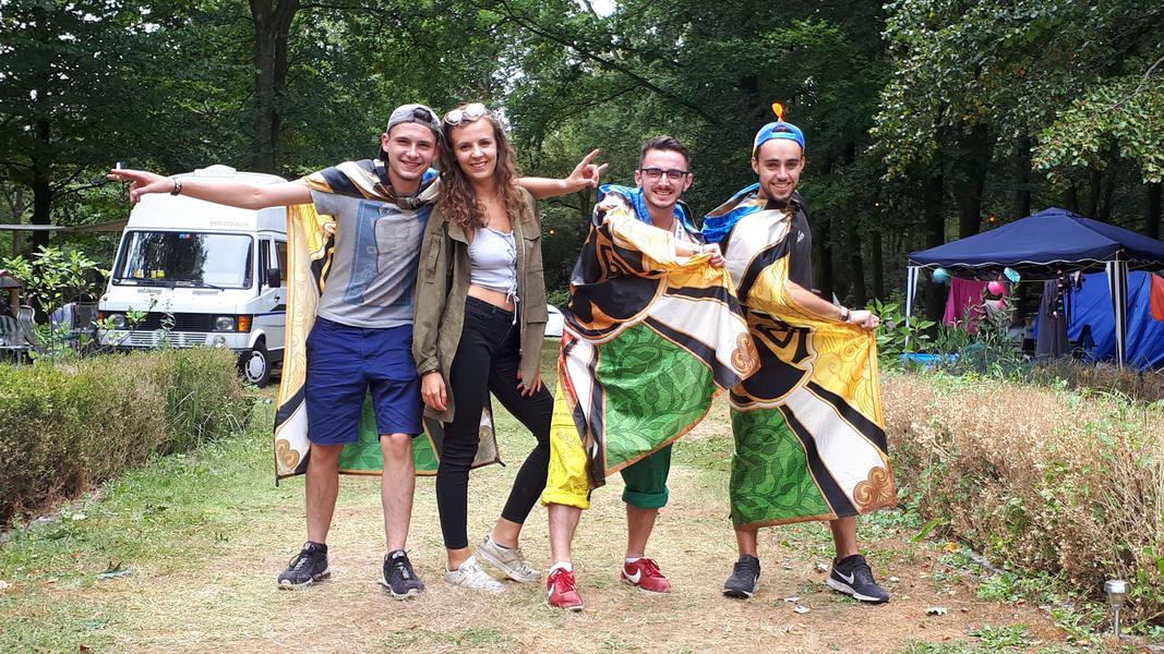 Tomorrowland Camping Garden #5