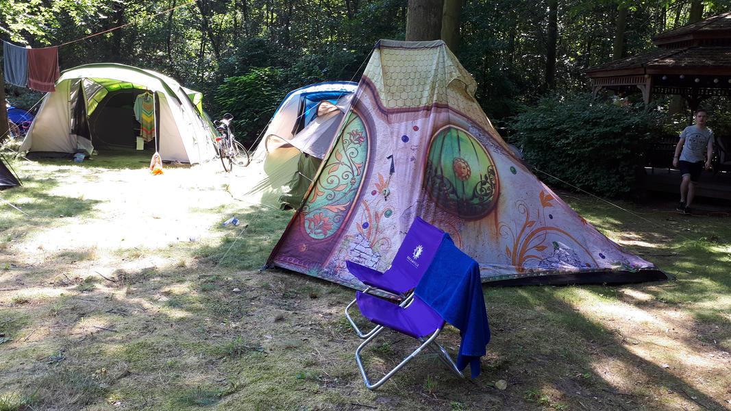 Tomorrowland Camping Garden #6