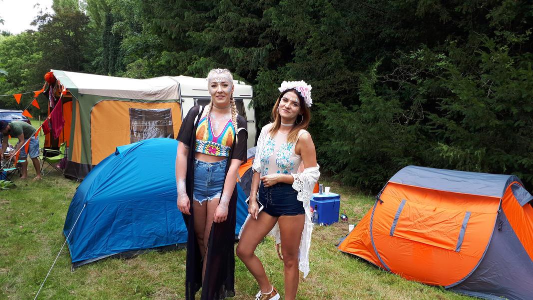 Tomorrowland Camping Garden #7