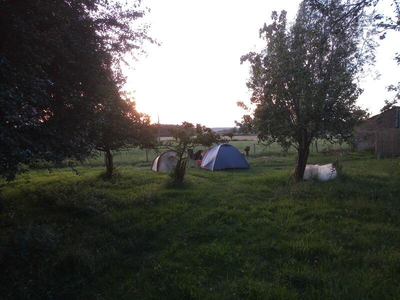 Op de grens van Pays des Collines en de Vlaamse Ardennen op Ferme Troubadour #1