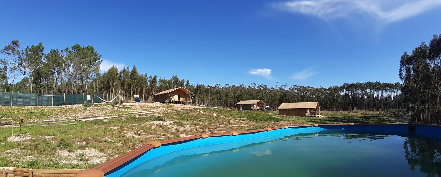 Small-scale ecological glamping on the Silver Coast. #1