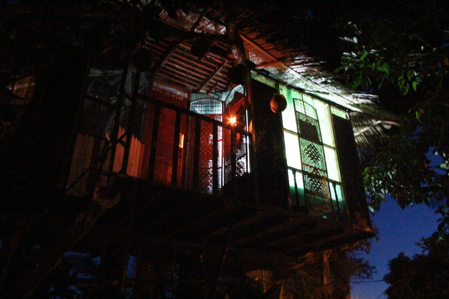 Treehouse at Camping Garden #1