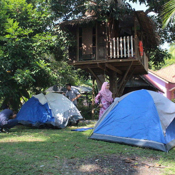 Treehouse at Camping Garden #2