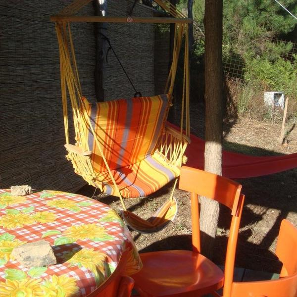 Vintage safari tent Timo in the Tuscany mountains #4