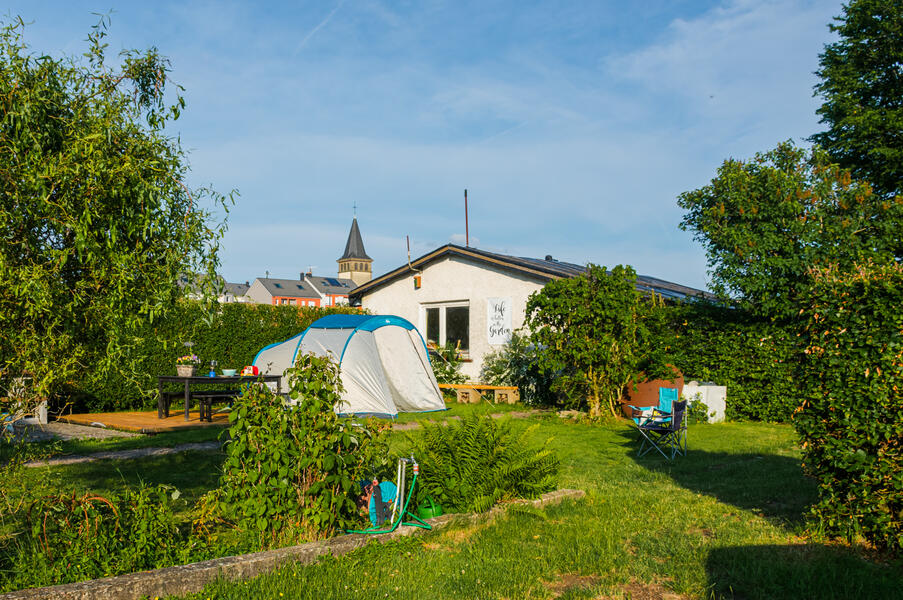 Quiet place in adventure garden in Mullerthal. #1
