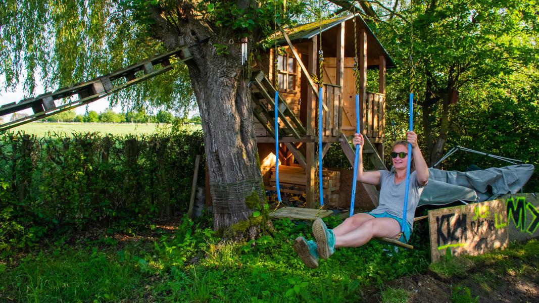 Quiet place in adventure garden in Mullerthal. #2