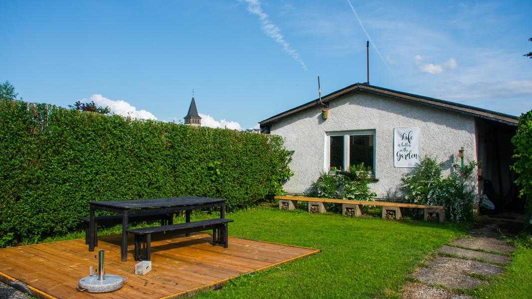 Quiet place in adventure garden in Mullerthal. #3