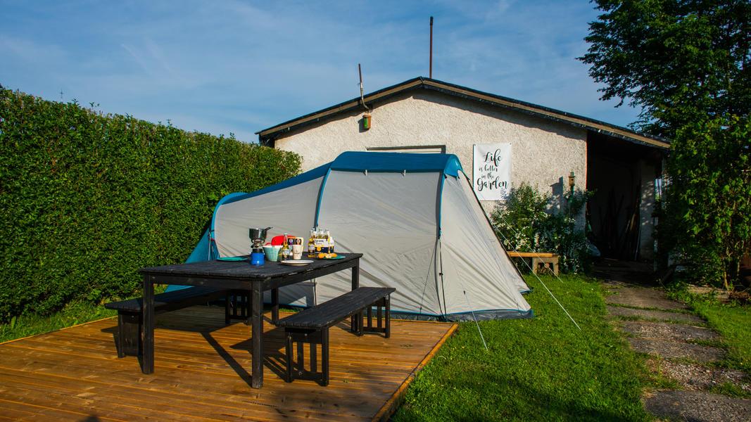 Quiet place in adventure garden in Mullerthal. #7