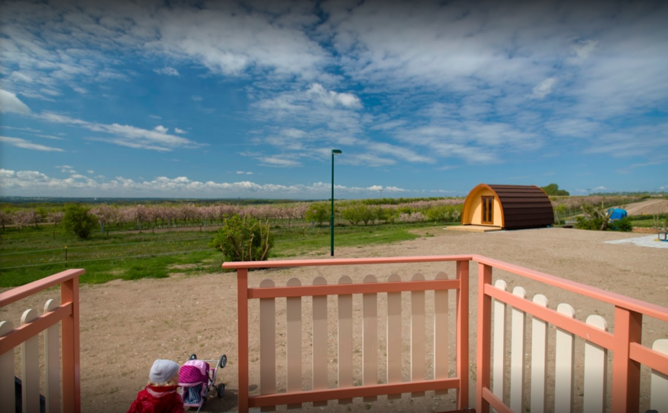 """family campsite with regional products and stunning view  """"Zur Kühlung"""" #4"""