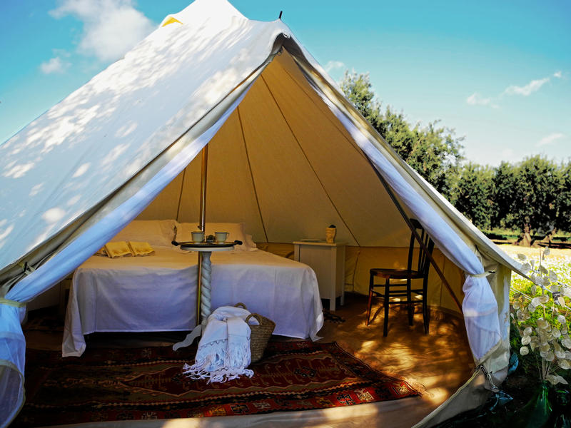 Glamping Nuvolive, tra nuvole e olive #1