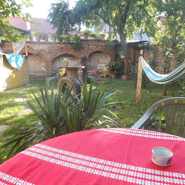 Camp in garden of an Eco Hostel in center of Korce #2