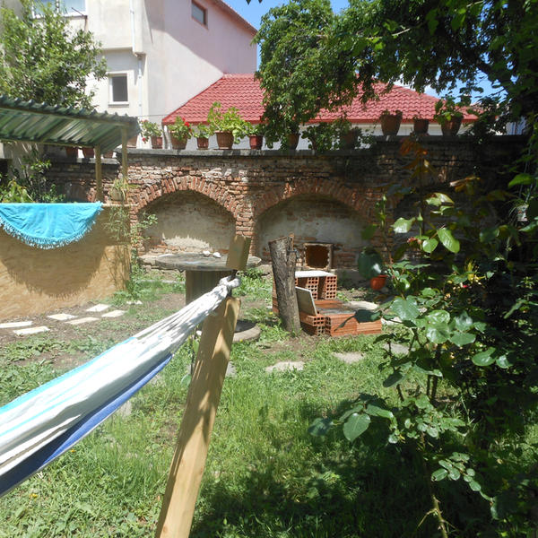 Camp in garden of an Eco Hostel in center of Korce #3