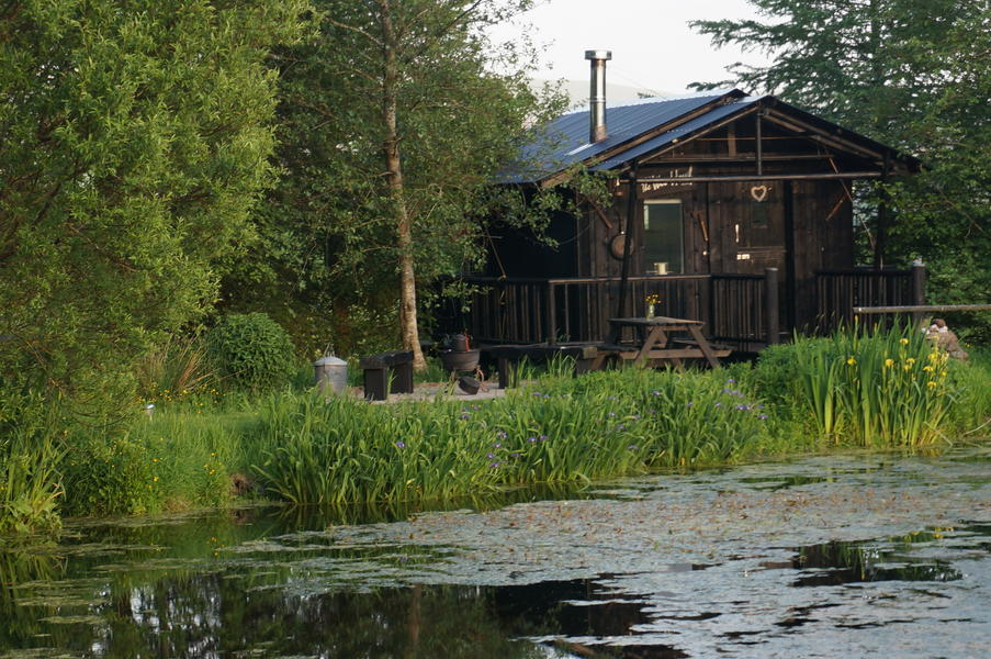 An idyllic cabin lovingly created beside its own lochan surrounded by wildlife and birds. #1