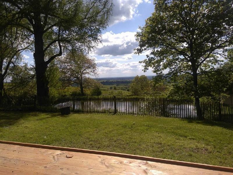 Kamperen in een safaritent met uitzicht over de Loire vallei #1